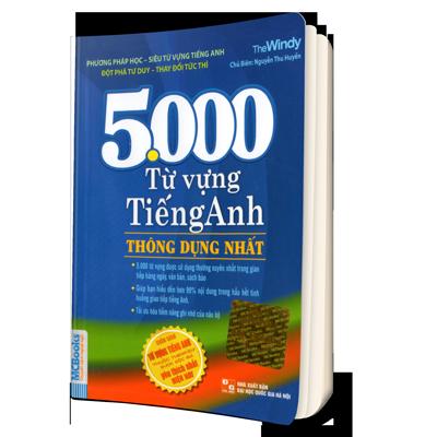 Sách 5000 từ tiếng Anh thông dụng