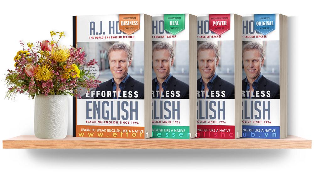 Bộ sách Effortless English phiên bản quốc tế