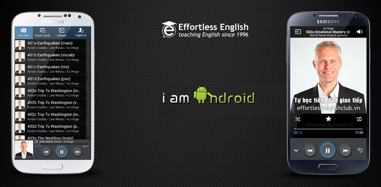 Effortless english android samsung sony htc
