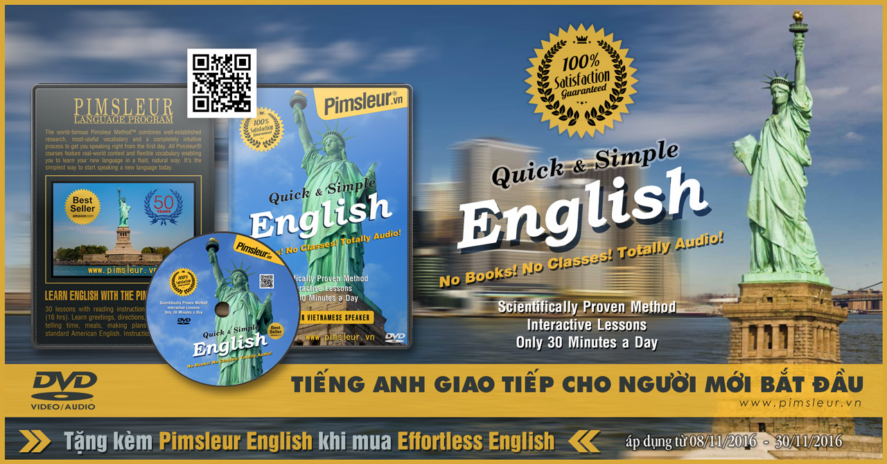 Pimsleur English DVD